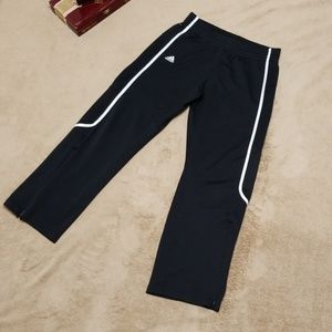 ADIDAS mens clima-lite joggers, warm-up pants.